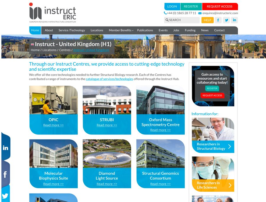 Instruct-Eric Website Design Oxford, Clear & Creative
